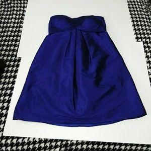 Cache Dresses - Caché Royal Blue Strapless Dress